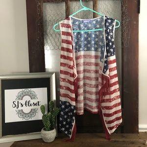 American Flag Vest